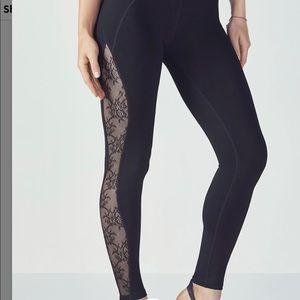 Fabletics high waisted black leggings